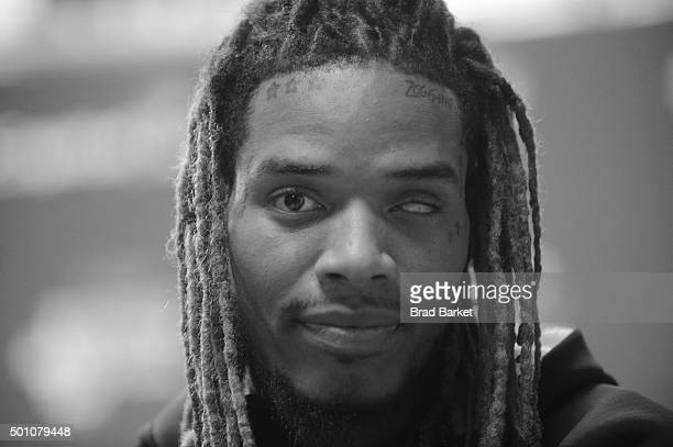 NOTE Fetty Wap attends Z100's Jingle Ball 2015 at Madison Square Garden on December 11 2015 in New York City