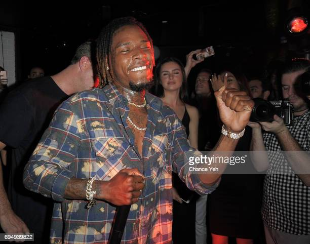 Fetty Wap performs at Mark Birnbaum's 40th birthday celebration with a Tenjune opening on June 10 2017 in New York City