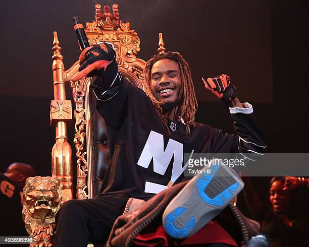 Fetty Wap performs during Power 1051's Powerhouse Concert at Barclays Center on October 22 2015 in New York City