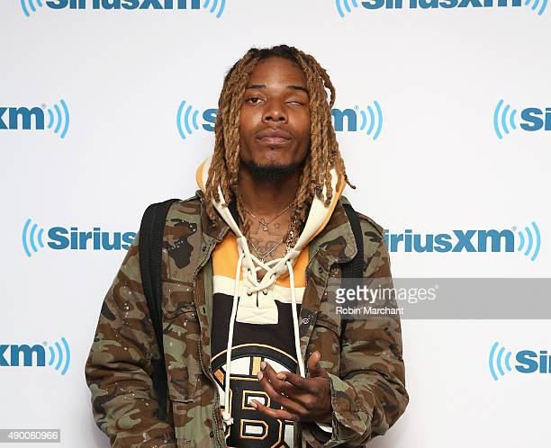 Fetty Wap visits at SiriusXM Studios on September 25 2015 in New York City