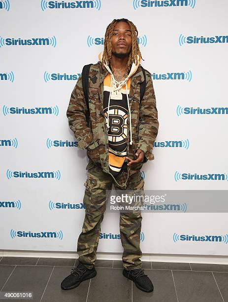 Fetty Wap visits at SiriusXM Studios on September 25 2015 in New York City