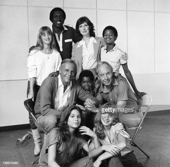 RENT STROKES 'Feudin' and Fussin' Part 1 2' Episode 3 4 Pictured Kim Richards as Ruthie Alder Meadowlark Lemon as himself McLean Stevenson as Larry...