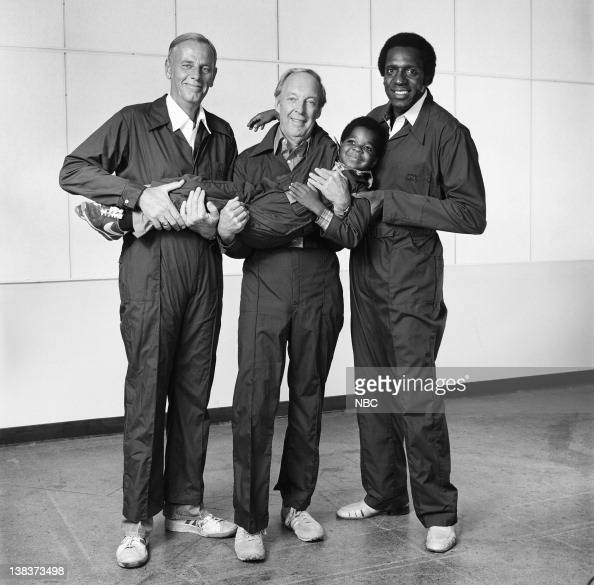 RENT STROKES Feudin' and Fussin' Part 1 2 Episode 3 4 Pictured McLean Stevenson as Larry Alder Conrad Bain as Philip Drummond Gary Coleman as Arnold...