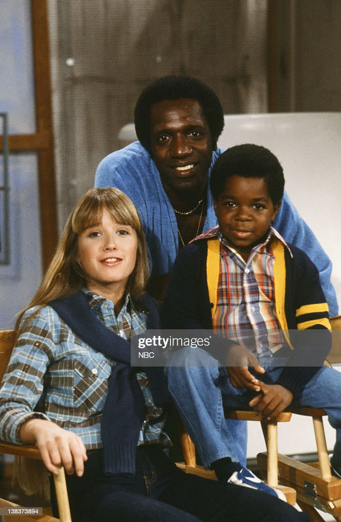 RENT STROKES -- 'Feudin' and Fussin: part 1 and 2' Episodes 3,4 -- Pictured: (l-r) Kim Richards as Ruthie Alder, Meadowlark Lemon, Gary Coleman as Arnold Jackson