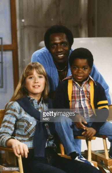 RENT STROKES 'Feudin' and Fussin part 1 and 2' Episodes 34 Pictured Kim Richards as Ruthie Alder Meadowlark Lemon Gary Coleman as Arnold Jackson