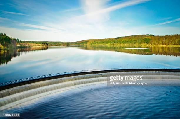 Fewston Reservoir wier