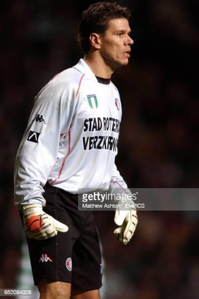 Feyenoord goalkeeper Patrick Lodewijks