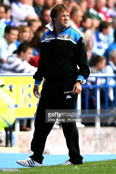 Feyenoord's manager Erwin Koeman