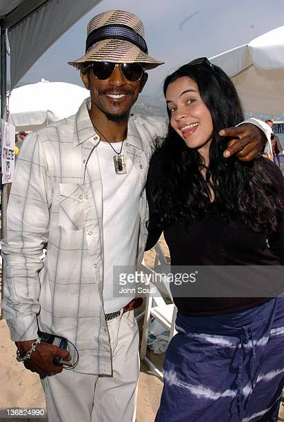 Fez and Zuleikha Robinson during Rip Curl Presents 'Sand Glam' Benefitting Heal the Bay Celebrity Surfing Competition at Malibu Surfrider Point in...