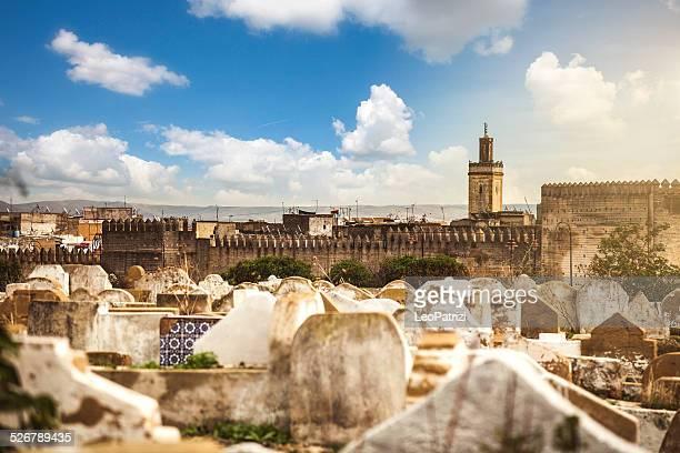 Fez cemetery and Medina, Morocco