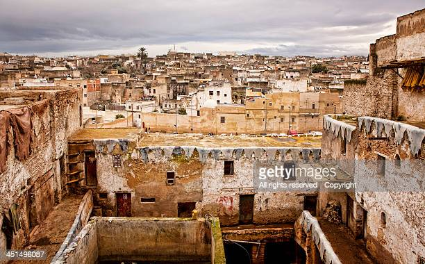 Fez from the tanneries