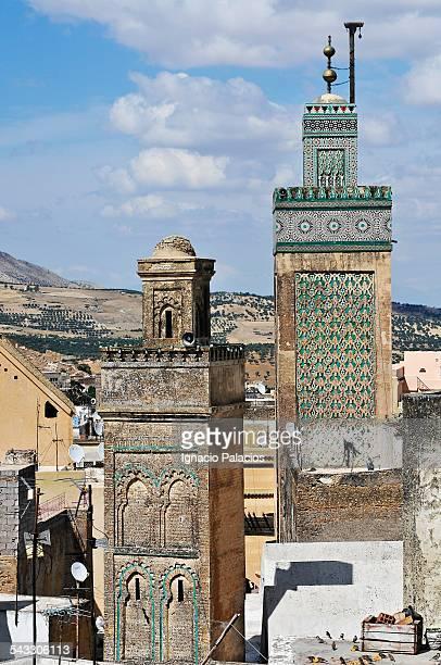 Fez minarets