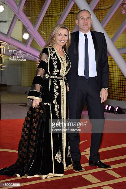 FFayrouz Karawani and Laurent Weil attend the Jury Photocall during the 14th Marrakech International Film Festival on December 5 2014 in Marrakech...