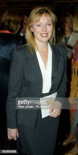 Ffion Hague the wife of the former leader of the Conservative Party William Hague at the launch at Buckingham Palace of 'Arts Kids' which encourages...