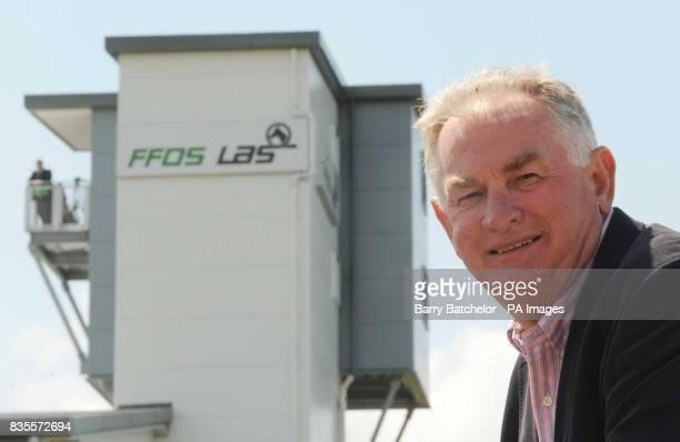 Ffos Las owner Dai Walters at Ffos Las Racecourse Trimsaran
