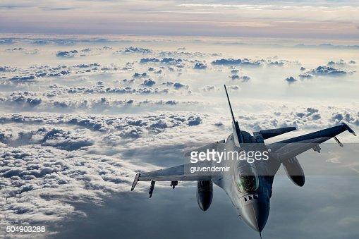 Fıghter Jet in flight