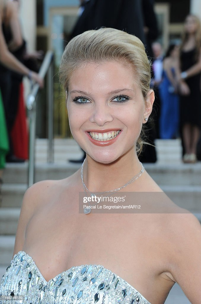 Fiammetta Cicogna arrives at the 2012 amfAR's Cinema Against AIDS during the 65th Annual Cannes Film Festival at Hotel Du Cap on May 24, 2012 in Cap D'Antibes, France.
