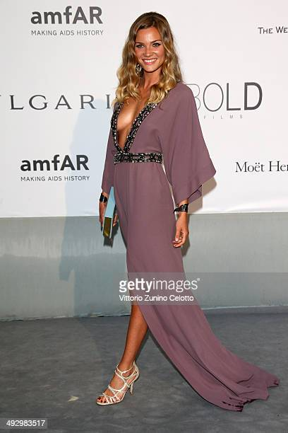 Fiammetta Cicogna attends amfAR's 21st Cinema Against AIDS Gala Presented By WORLDVIEW BOLD FILMS And BVLGARI at Hotel du CapEdenRoc on May 22 2014...
