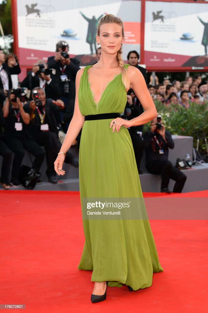 Fiammetta Cicogna attends 'Gravity' premiere and Opening Ceremony during The 70th Venice International Film Festival at Sala Grande on August 28, 2013 in Venice, Italy.