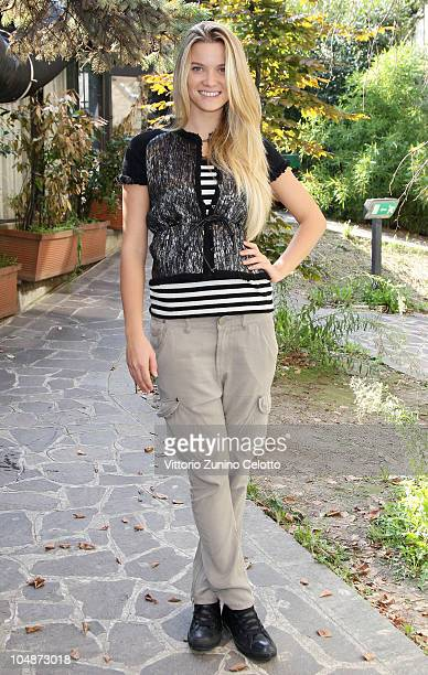 Fiammetta Cicogna attends the 'Insieme Cup For Children' Photocall held at ATA Hotel on October 6 2010 in Milan Italy