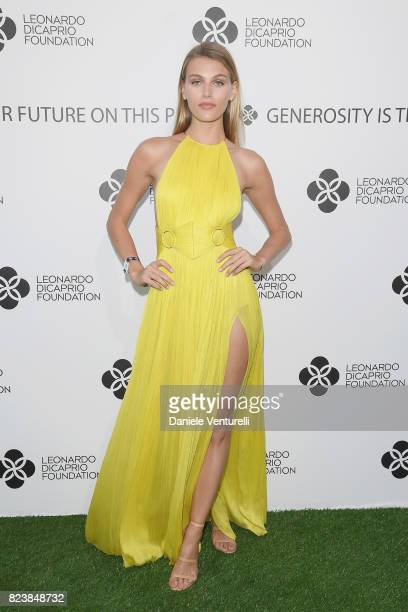 Fiammetta Cicogna attends the Leonardo DiCaprio Foundation 4th Annual SaintTropez Gala at Domaine Bertaud Belieu on July 27 2017 in SaintTropez France