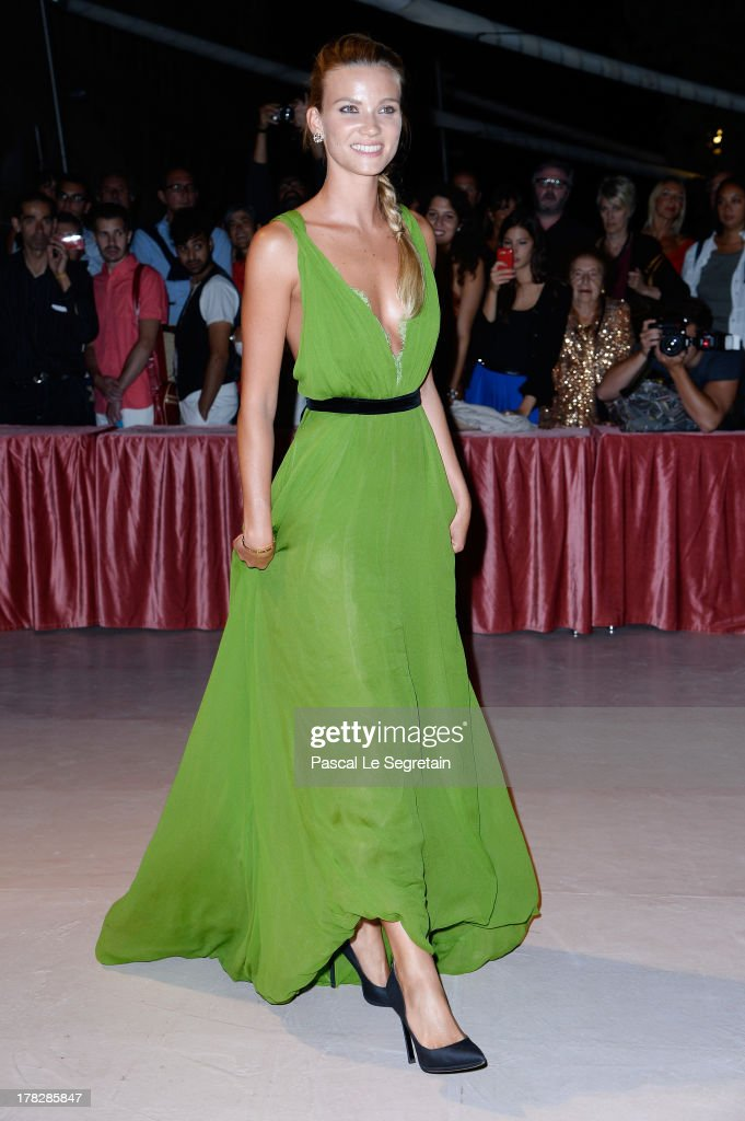 Fiammetta Cicogna attends the Opening Dinner Arrivals during the 70th Venice International Film Festival at the Hotel Excelsior on August 28, 2013 in Venice, Italy.