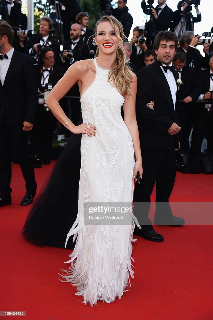 Fiammetta Cicogna attends the Premiere of 'The Immigrant' at The 66th Annual Cannes Film Festival at Palais des Festivals on May 24, 2013 in Cannes, France.