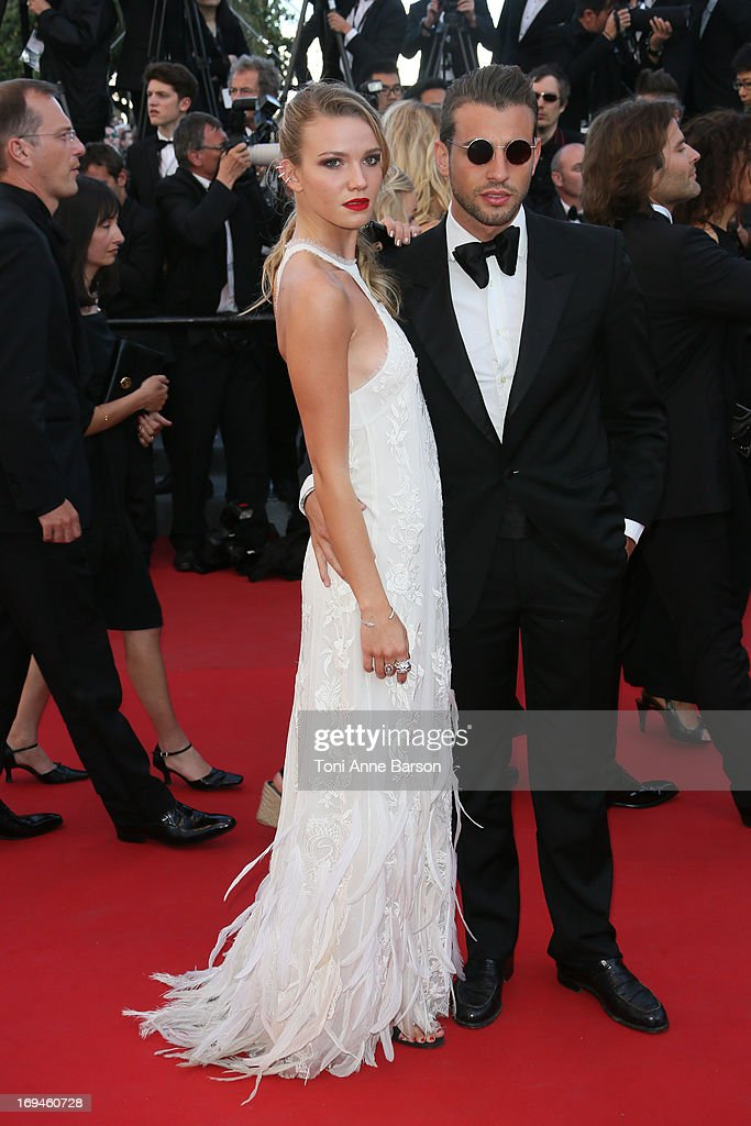 Fiammetta Cicogna attends the premiere of 'The Immigrant' at The 66th Annual Cannes Film Festival on May 24, 2013 in Cannes, France.