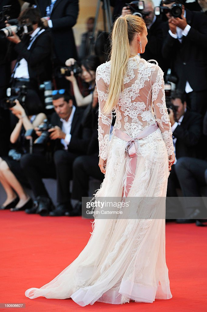 Fiammetta Cicogna attends 'The Reluctant Fundamentalist' Premiere And Opening Ceremony during the 69th Venice International Film Festival at Palazzo del Cinema on August 29, 2012 in Venice, Italy.