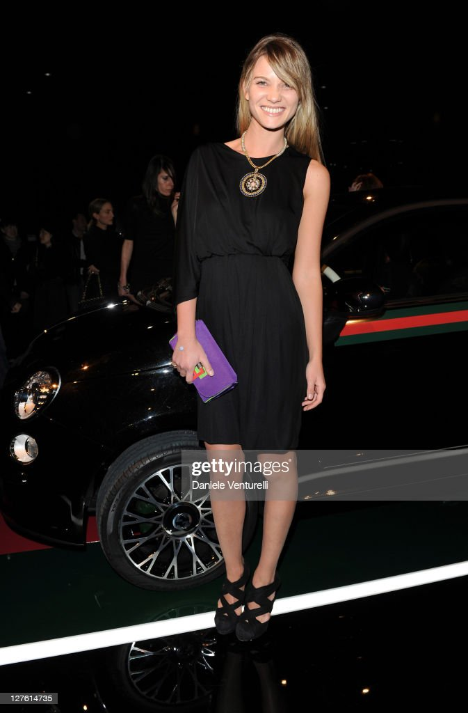 Fiammetta Cigogna attends the 500 by Gucci launch party during the Milan fashion week womenswear Autumn/Winter 2011 on February 23, 2011 in Milan, Italy.