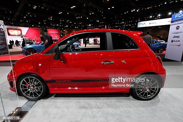 Fiat 500 Abarth at the 107th Annual Chicago Auto Show at McCormick Place in Chicago Illinois on FEBRUARY 13 2015