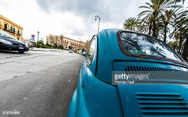 Fiat 500 detail Palermo