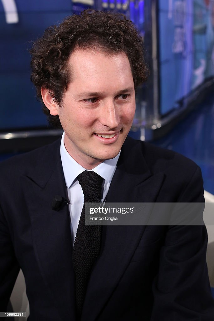 Fiat Chairman <a gi-track='captionPersonalityLinkClicked' href=/galleries/search?phrase=John+Elkann&family=editorial&specificpeople=571803 ng-click='$event.stopPropagation()'>John Elkann</a> attends 'Porta A Porta' Italian TV Show dedicated to his grandfather Giovanni Agnelli on January 24, 2013 in Rome, Italy. Today President of Italian Republic Giorgio Napolitano remembered after 10 years the death of Gianni Agnelli - President and principal shareholder of Fiat Group at the Cathedral of Torino.