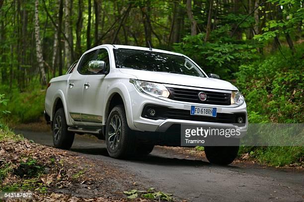 Fiat Fullback sur la route