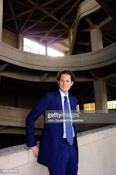 Fiat industrialist John Elkann at the Fiat Headquarters in Turin 26th June 2013