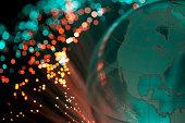 Fiber optics and globe