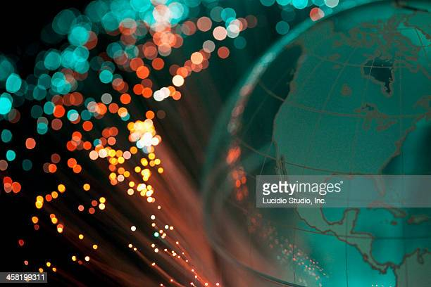 Fiber optics and globe