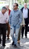 Fidel Albiac is seen on May 8 2014 in Madrid Spain