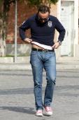 Fidel Albiac is seen on October 21 2013 in Madrid Spain