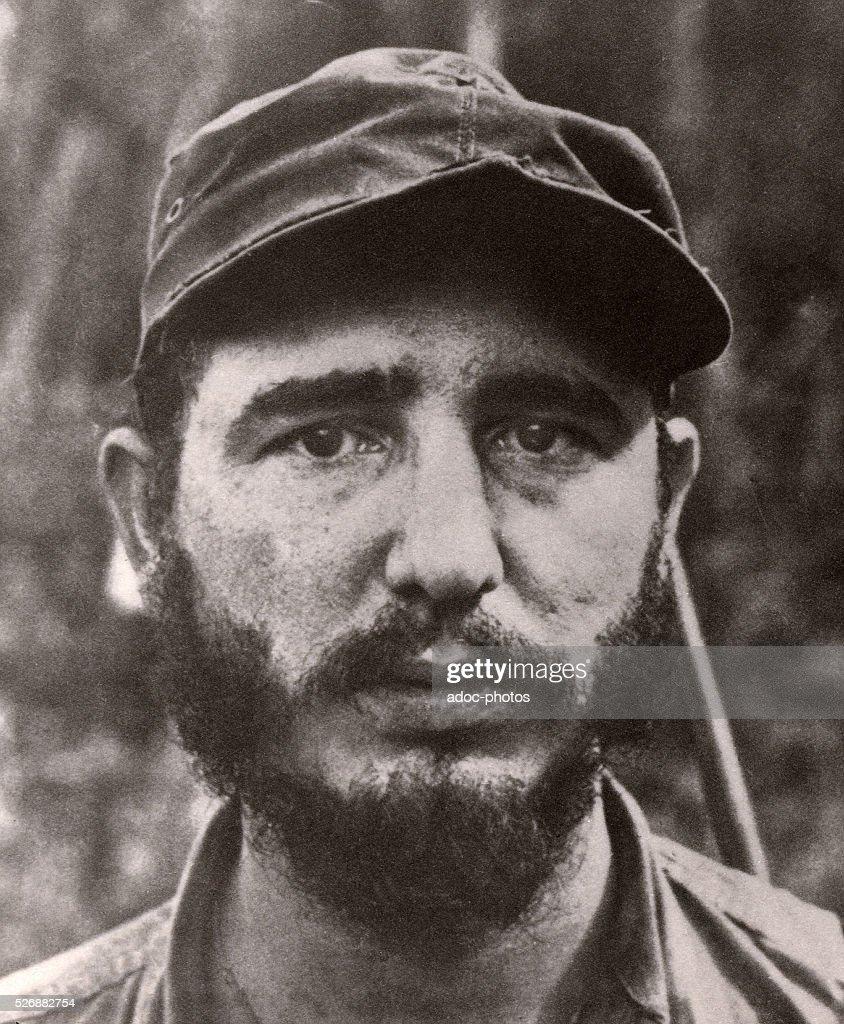 Fidel Alejandro Castro Ruz (1926-), Cuban statesman born in Biran (Cuba). In 1959.