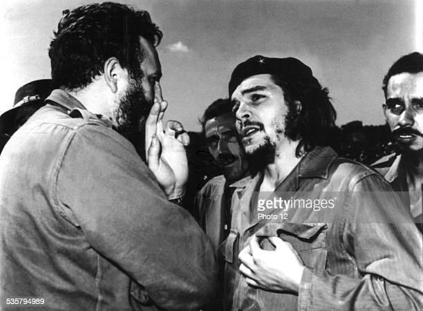 Fidel Castro and Che Guevara c1960 Cuba