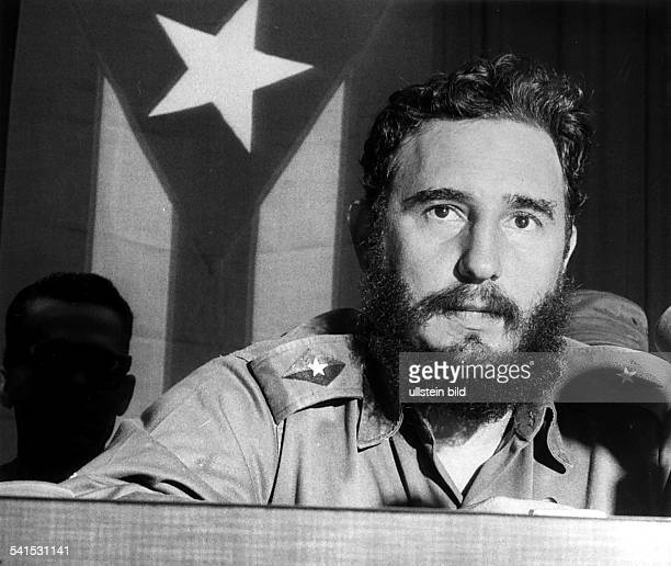 Fidel Castro Revolutionary Politician Cuba*adressing 1960ies