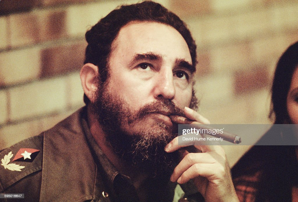 Image result for fidel castro  getty images