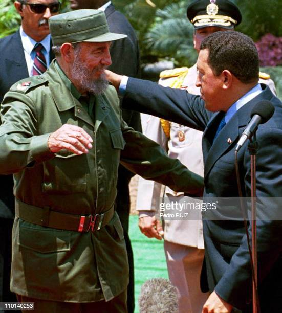 Fidel Castro visits Venezuela on his 75th birthday To celebrate his 75th birthday on August 13th Fidel Castro was invited by President Hugo Chavez to...