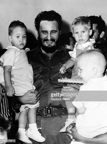 fidel and the kids stock photos and pictures getty images