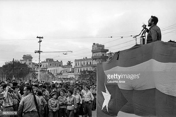 Fidel Castro's speech Cuba about 1960