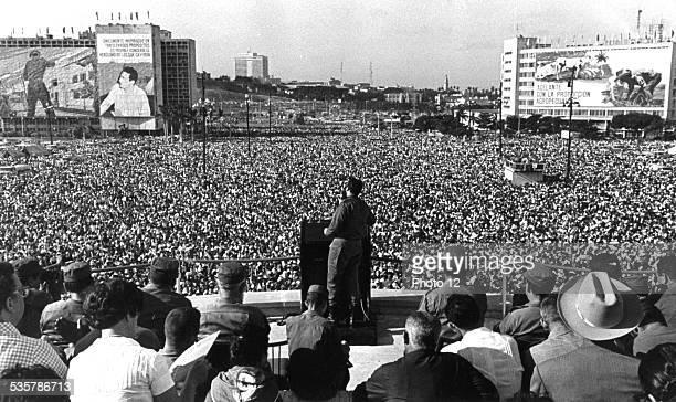Fidel Castro's speech in La Habana