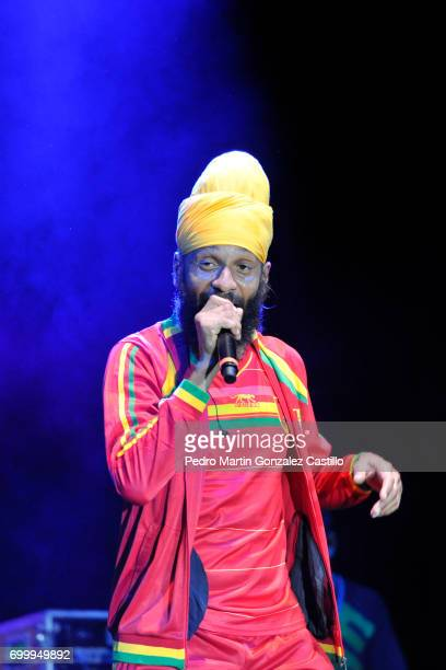 Fidel Nadal performs during a show as part of the music festival De Vos a Voz at Carpa Astros on June 11 2017 in Mexico City Mexico
