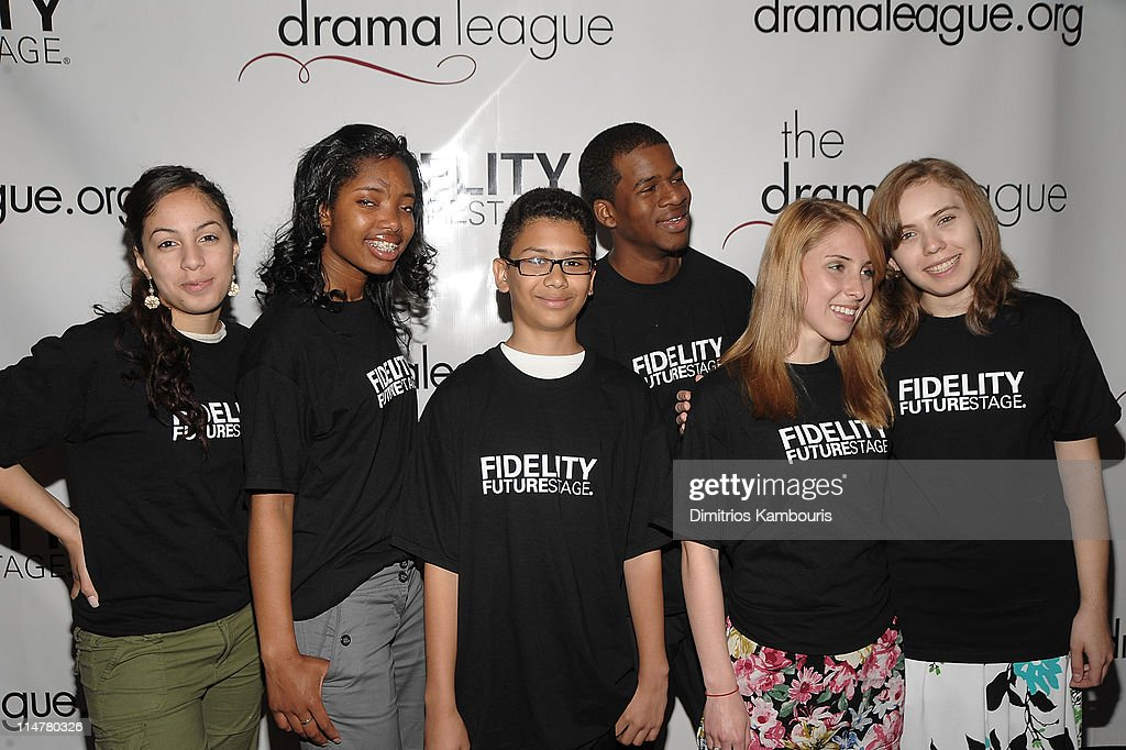 Fidelity Futurestage Student Playwrights Nathalie Torrenegra, Krystal Thomas, Luis Ramirez, Nasaun Lineszy, Kathleen Rogers and Kathy Roszczeda attendthe 76th Annual Drama League Awards ceremony and luncheon at the Marriot Marquis on May 21, 2010 in New York City.