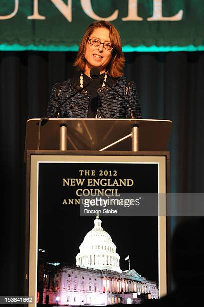 Fidelity President Abigail Johnson received an award on October 4 from the New England Council during their annual dinner at the World Trade Center...